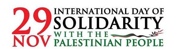Palesztin Néppel Való Szolidaritás Világnapja